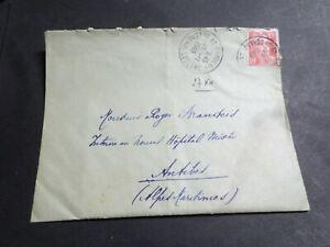 FRANCE CACHET 1949, SEUL LETTRE timbre 812, GANDON, oblitéré VF COVER, LOT B