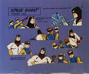 Hanna Barbera:Space Ghost,Jace,Jan,Blip Original Model Cel
