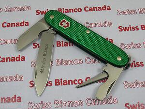 Swiss Bianco Exclusive Victorinox Electrician Kelly Green