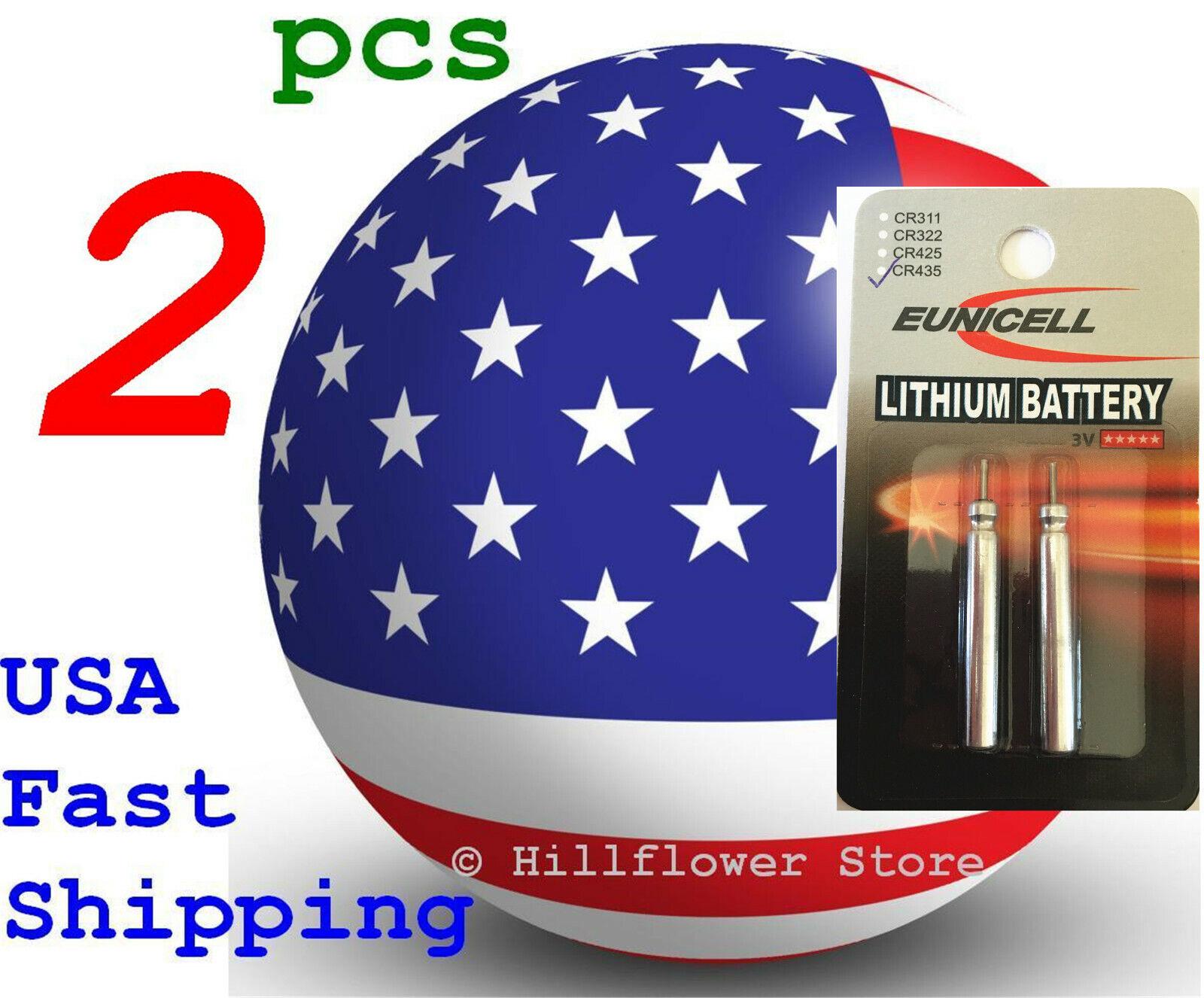 2 pcs CR435 435 LM435 BR435 Card 3V Lithium Battery