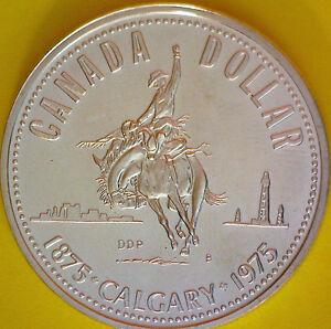 1975 CANADA VOYAGEUR DOLLAR SPECIMEN COIN