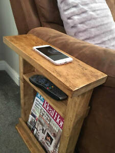 Cool Details About Narrow Side Table Slim Table End Table Sofa Table Magazine Rack Settee Download Free Architecture Designs Aeocymadebymaigaardcom