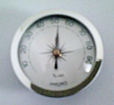 Aluskala silber Deutsches Fabrikat 45 mm Hygrometer Einbau analog Aufbau