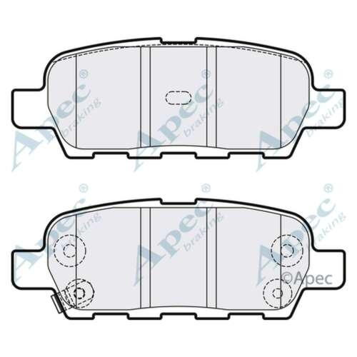 Fits Nissan X-Trail T31 2.0 dCi Genuine OE Quality Apec Rear Disc Brake Pads Set
