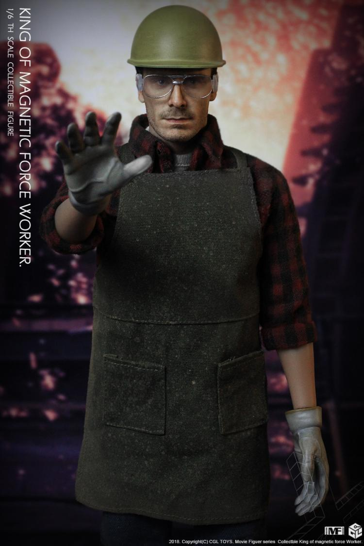 Pre-order 1/6 Scale CGL Toys MF12 King Of Magnetic Force Worker Fassbender