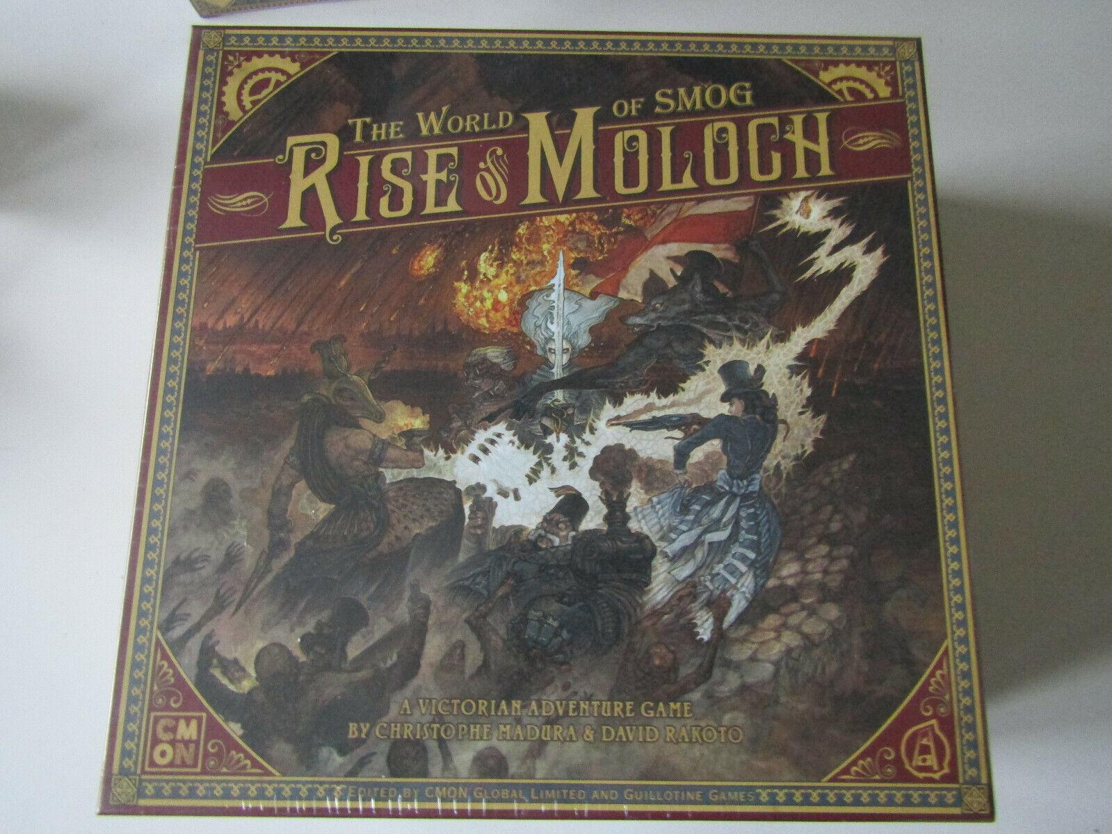 Aufstieg von Moloch - Rise of Moloch - Englisch Kickstarter  - NEU & OVP