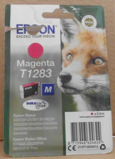 Epson T1283 Tinte magenta für stylus Color Office BX 305F 306FW S22 SX 125