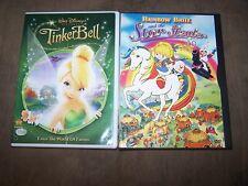 Star Stealers 2004 (RARE) & Tinker Bell DVDs IN EXCELLENT SHAPE