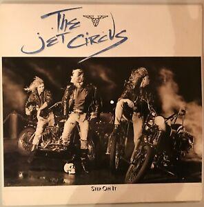 Jet-Circus-Step-On-It-LP-20157-Vinyl-Privatpressung-120-Kopien-weltweit