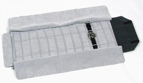 Espositore Borsa Rotolo Con Elastici Porta Orologi Bracciali Multiuso lac