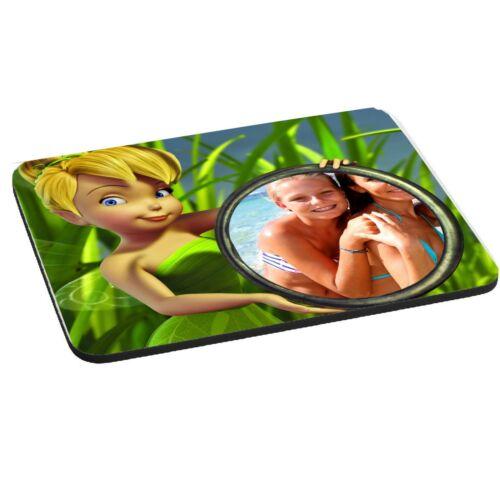 5mm épais Disney tinkerbell personnalisé photo tapis de souris pad 220mm x 180mm