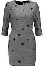 Genuine Zoe Karssen Women's Metallic Jacquard Mini Dress -Size Small - RPP £270