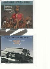 CLAUDE FRANCOIS LOT 2 MINI CD- REDITION ANNEE 90-ANCORE CELE-MAIS QUAND LE MATIN