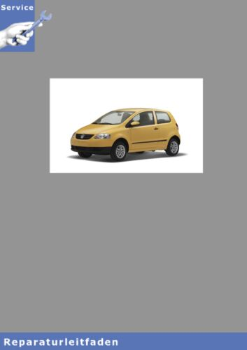 carrello VW Fox 04-11 assi e sterzo-istruzioni di riparazione tipo 5z