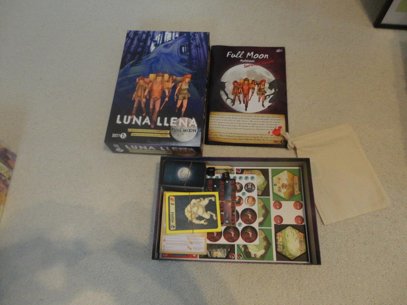 Luna Llena - Full Moon (Gen X Games 2009) Neu    Stilvoll und lustig
