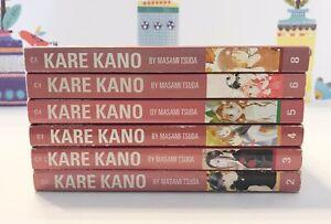 Kare-Kano-Manga-Lot-2-6-amp-8-Masami-Tsuda-Tokyopop-Age-13