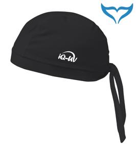 iQ-Company-UV-300-Bandana-Cap-M-L-XL-black-schwarz-Kappe-Kopftuch-Kopfbedeckung