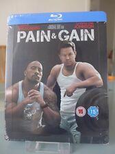 Blu ray steelbook Pain & Gain U.K Zavvi exclusive New & Sealed NEUF avec VF