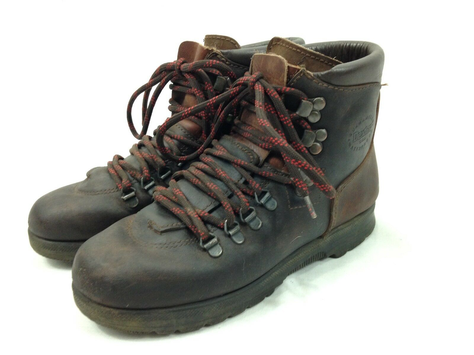 VTG Dexter Hiking Mountaineering Stiefel Damenschuhe 8 M Braun Waterproof Lace Up USA