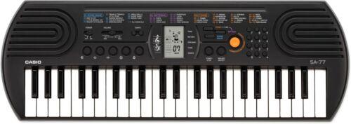 Casio SA-77 grau Keyboard mit 44 Minitasten