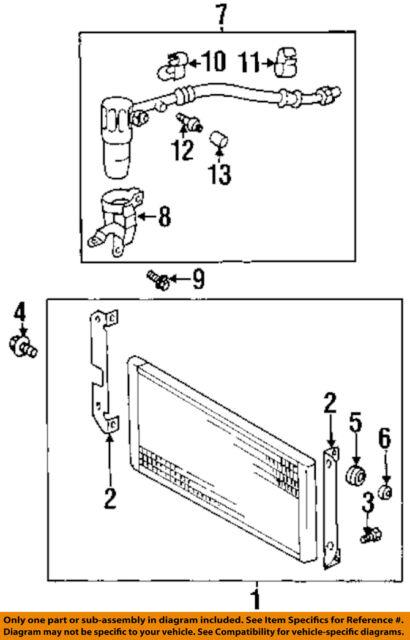 Chevrolet GM OEM 00-02 Prizm Air Conditioner-drier 1132743 on