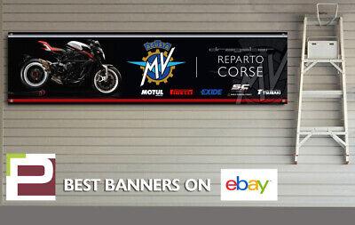 MV Agusta Dragster Reparto Corse logo Banner for Workshop Garage Pit Lane,