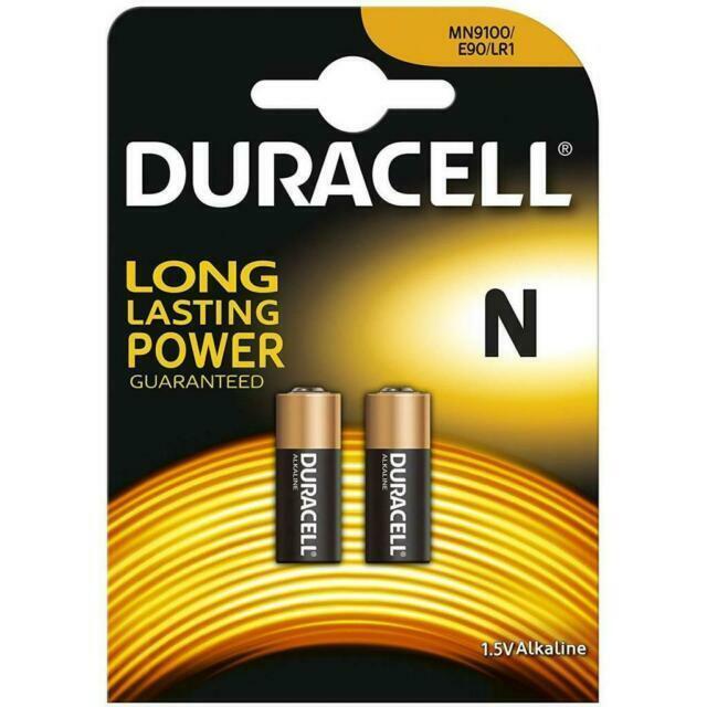 20 x DURACEL Security Lady N LR1 MN9100 910A Batterien Batterie bulk