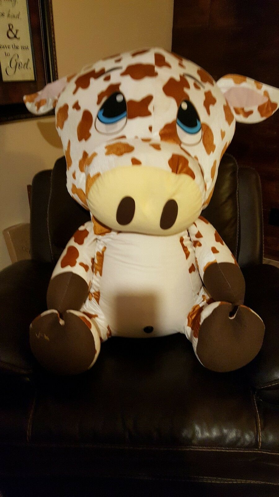 Classic Toy Co. Giraffe Plush Carnival Style OVER 3 FEET TALL. 40 inches