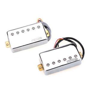Wilkinson-Classic-Tone-Chrome-Ceramic-PAF-Humbucker-Pickup-For-Les-Paul-Guitar