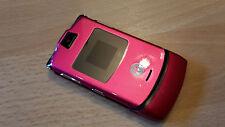 Motorola RAZR v3 Cellulare Pieghevole Rosa + tabulazione con pellicola + Senza SIM-lock