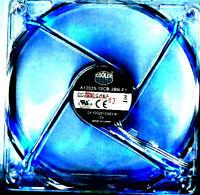 Cooler Master 120mm Fan - Blue LED  A12025-12CB-3BN-F1 120 mm, 1200 RPM, 3-Pin