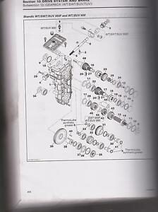 skidoo gearcase rebuilding service SCANDIK WT TUNDRA  EXPEDITION 1998 - 2012