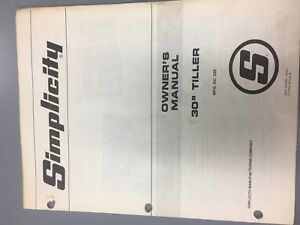 simplicity-30-034-tiller-628-tractor-manual-amp-illustrated-parts-list