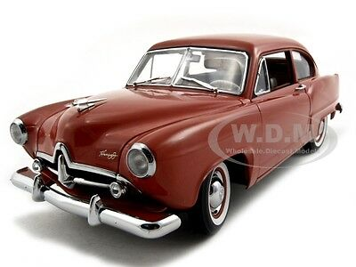 "1951 KAISER HENRY J ""NO TRUNK"" INDIAN CERAMIC PLATINUM EDITION 1/18 SUNSTAR 5092"