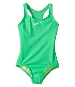 78ffed2efcb Details about Nike Core Solid Racerback Tank Girl's Swimsuits One Piece  7209 Size 12