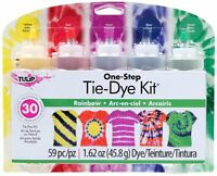 Tulip One-step 5 Color Tie-dye Kits Rainbow,1.62oz , New, Free Shipping on sale