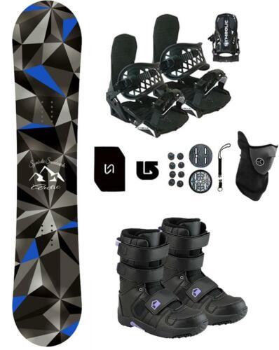 100 Symbolic Arctic Snowboard+Bindings+Boots Package+Stomp+Leash+Mask burton 3d