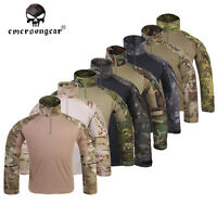 Emerson G3 Combat Shirt Airsoft Hunting Sports Hiking Top Clothing Multicam Cp