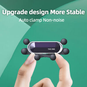 Universal Invisible mini Car Air Vent Mount Cell Phone Holder Stand For iPhone