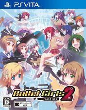 Used PS Vita Bullet Girls 2 Japan Import Free Shipping