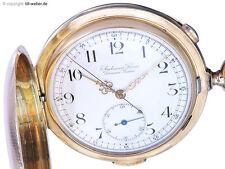 """Audemars Freres Taschenuhr """"Repetition und Chronograph"""" Gold ca. 1915"""