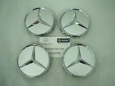 Genuine Mercedes-Benz Silver Chrome Alloy Wheel Hub Cap / Centre Caps B66470202