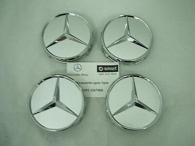 Genuine Mercedes-Benz Cerchi in lega//hub cap centro CAP cromato