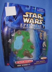Star-Wars-STAP-INVASION-w-Battle-Droid-Action-Fleet-Episode-I-Mini-Scenes-1-MOC