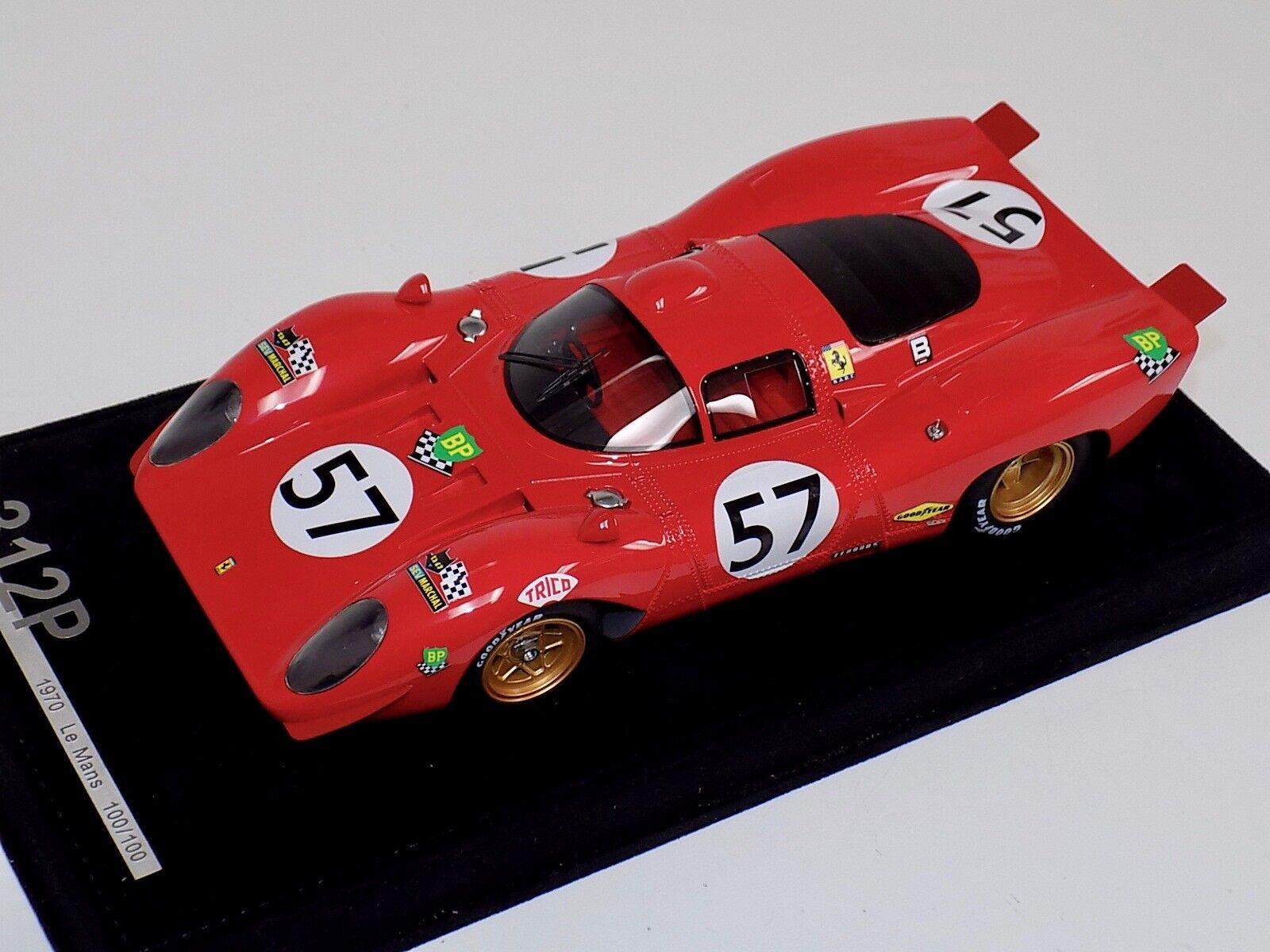 Ferrari 1 18 312P 1970 12 horas de Sebring coche  22 Parkes Parsons  100 de 100 f5