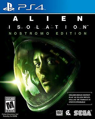 Alien Isolation: Nostromo Edition (Playstation 4 PS4, NTSC, Video Game) New