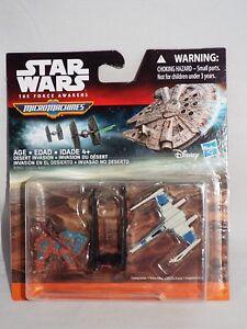 Hasbro Star Wars Force Awakens Micro Machines DESERT INVASION Loose Vehicle Set