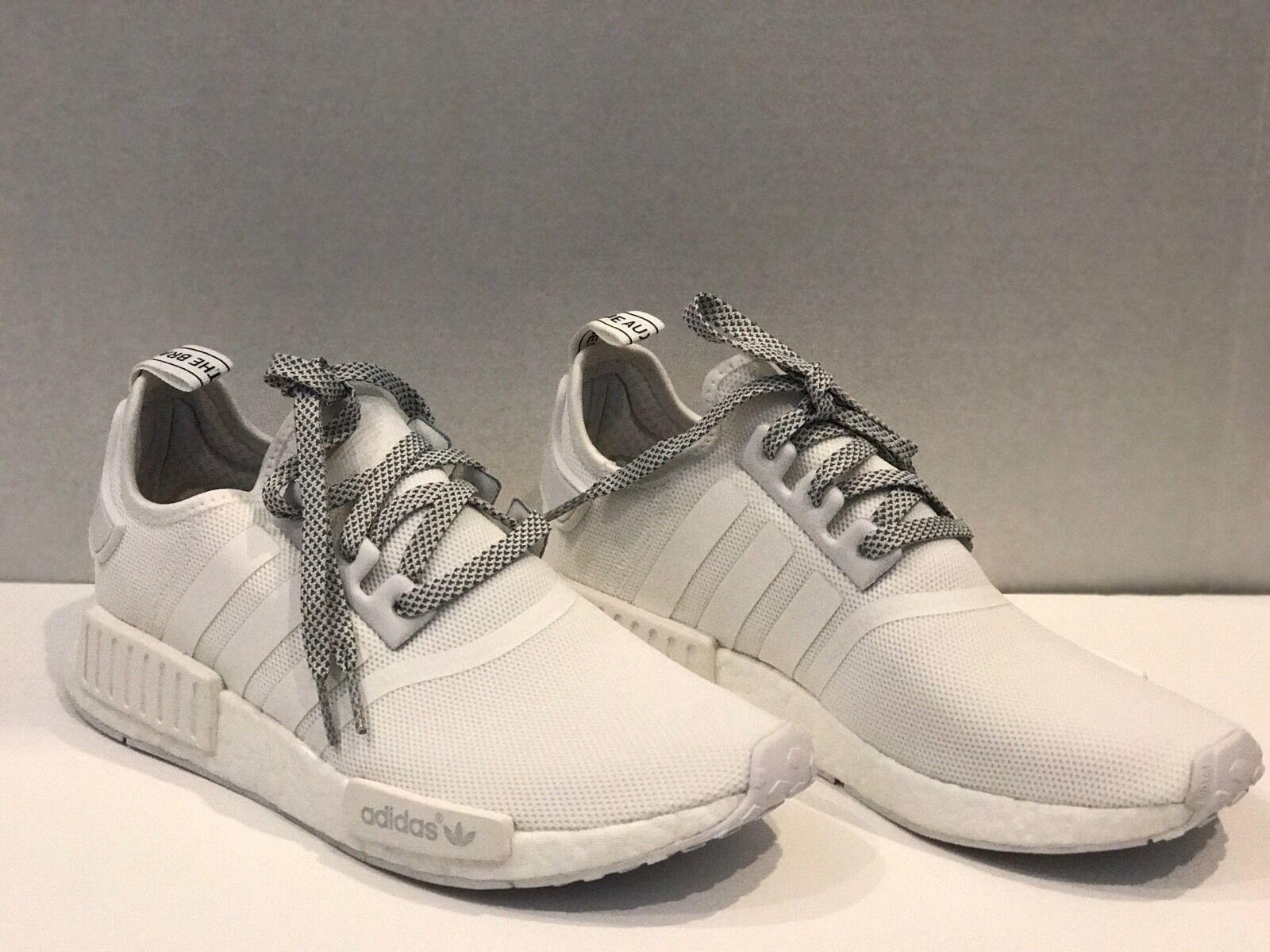 Adidas nmd riflettente r1 triplo bianco riflettente nmd monocromatico s31506 uomini dimensioni 9 3 e3c53e