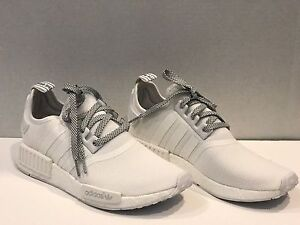 Adidas NMD R1 Triple White 3M REFLECTIVE Monochrome S31506