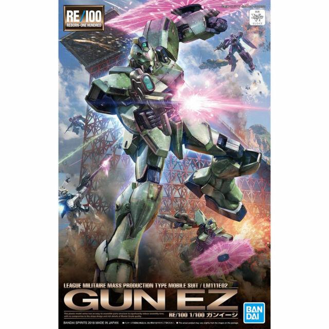 Bandai Re / 100 1/100 Lm111e02 Pistola Ez Maqueta de Plástico en Kit V Gundam